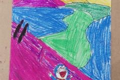 El grito - Silvia (7 años)